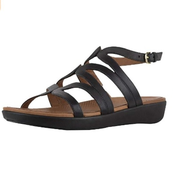 9a642d23c FitFlop Women s Strata Gladiator Sandals Size 11